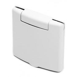 Zásuvka plast VEX - biela